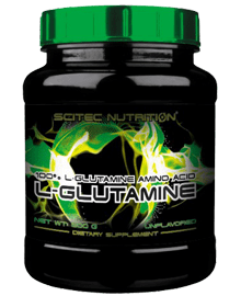 Glutamina - 300 grs. | scitecnutrition.cl