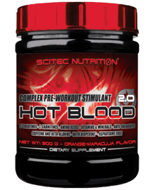 Hot-Blood - 300 grs. | scitecnutrition.cl